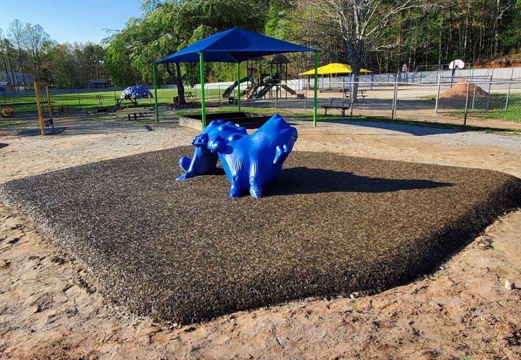 Pensacola Safety Surfacing-Bonded Rubber